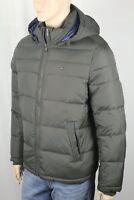 Tommy Hilfiger Green Ultra Loft Hooded Ski Puffer Coat Wind Resistant NWT $225