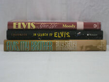 Elvis Presley 3 book lot My Brother, In Search of & After Life, Moody.. VG