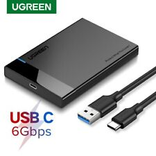 "UGREEN HDD Enclosure 2.5"" Inch Sata USB 3.0 Hard Drive HDD Case External Laptop"