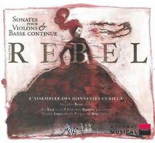L'Assembl e des Honn - Amandine Beyer Plays Jean-Ferry Rebel [New CD]