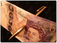 METAL PEN THRU BILL PENETRATE THROUGH NOTE MONEY CARD CLOSE UP PRO MAGIC TRICK