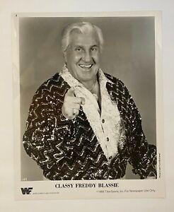 Freddie Blassie ORIGINAL 1988 WWF 8X10 Promo Photograph! Titansports! Wrestling!