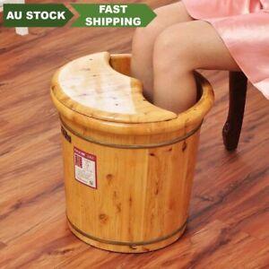 Tall Foot basin wooden bucket foot bath tub with cover &massage 高足浴桶加厚泡脚桶按摩加盖