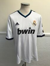 Adidas REAL MADRID HOME SHIRT 2012-2013 PEPE #3 FOOTBALL SOCCER JERSEY SIZE XL