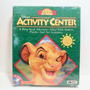 Vintage Walt Disney THE LION KING: Activity Center CD-ROM Movie Puzzle Art Game