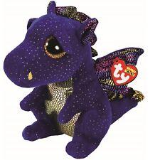 Ty Beanie Babies Boos 37260 Saffire el Dragón Azul Boo Buddy