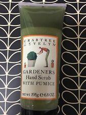 Crabtree & Evelyn Gardeners Hand Scrub with Pumice 6.8oz (195g)