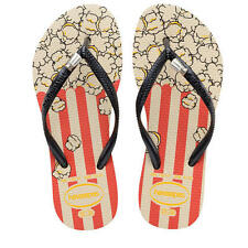 Flip-Flops  Havaianas  -Thongs -POPCORN Sandals Little Girls Size 10 SALE!