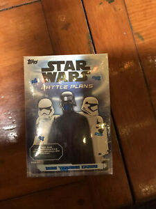 2021 Topps Star Wars Battle Plans Trading Card Blaster Box NEW IN HAND SEALED!