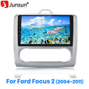 """9"""" Car Radio GPS Navigation Android 10 DSP DAB+ WiFi For Ford Focus 2 2004-2011"""