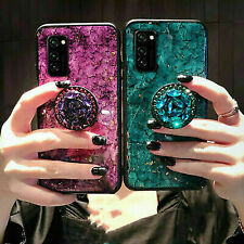 Diamond Marble Stand Holder Case Cover For Samsung Galaxy Phone A21S Note 20