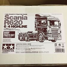 Tamiya 56514 RC Body Set Scania Highline - R620 6x4