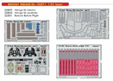 Eduard 1/32 Dassault Mirage IIIc - Part I Big-Ed Set # 3364