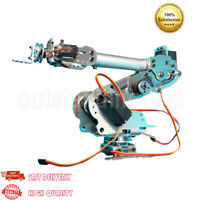 6DOF Mechanical Robot Arm Claw Kit with MG996R Servos for Robotics Arduino DIY#.