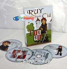 Ruy el Pequeño Cid la Serie Completa en ESPAÑOL LATINO DVD Region 1 y 4 NTSC New