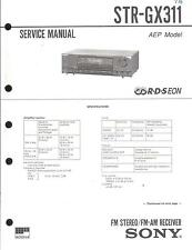 Sony Original Service Manual für STR-GX 311