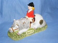 John Beswick Thelwell Pony Dont Tire Your Pony Grey JBT6GR Pony Club Figurine