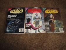 13 ANALOG Sci Fi 1988 Ben BOVA Charles SHEFFIELD