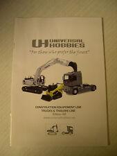 Universal Hobbies 2008 Edition #2 Construction & Truck & Trailer model catalogue