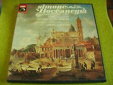 BOX 3 LP VERDI-SIMONE BOCCANEGRA-Gobbi/Christoff/De Los Angeles-SANTINI-MONO-EMI