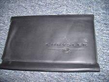 2003 CHRYSLER PT CRUISER CIRRUS 300 OWNERS MANUAL CASE