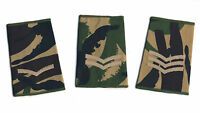 NEW BRITISH ARMY WOODLAND DPM RANK SLIDE IN LANCE CORPORAL,CORPORAL & SERGEANT