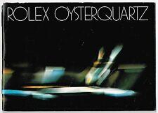 Rolex Oysterquartz 1983 LIBRETTO VINTAGE 19019 19018 17000 17014 17013 Quarzo OEM