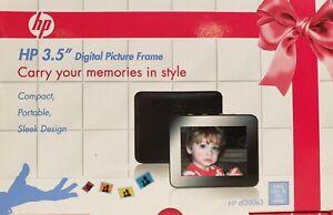 """HP 3.5"""" Digital Picture Frame DF300a3 PLEASE READ DESCRIPTION"""