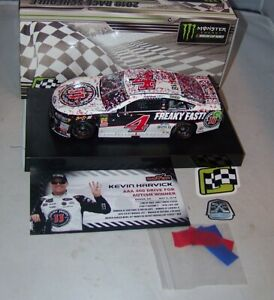 1:24 ACTION 2018 #4 JIMMY JOHNS DOVER RACE WIN FORD KEVIN HARVICK 1/505 NIB