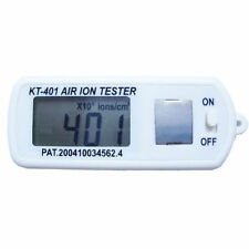 Air Ion Tester Meter Counter Test Count -ve Negative Ions with Peak Maximum Hold