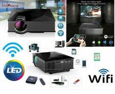 "KIt TV DVB-T 130"" mini Proiettore LED FULL HD decoder DVB-T 1080p WIFI Antenna"