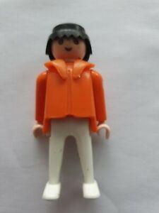 Playmobil Geobra Vintage 1974 Medical Figure 1st Aid Aider Doctor Medic  70s toy