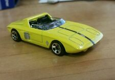 2010 Hot Wheels New Models '62 Ford Mustang Concept yellow loose