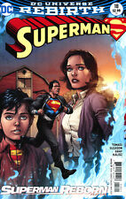 Superman Vol 5 #18 Cover B Variant Gary Frank Cover (Superman Reborn Part 1)