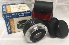 Promaster Spectrum 7 Tele-Converter Lens 2x Multi-Coated 7-Element Olympus 5739