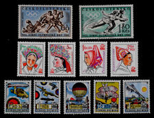 CZECHOSLOVAKIA: 1960'S - 70'S STAMP COLLECTION MINT NEVER HINGED SOUND