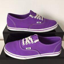 VANS Unisex Purple Low Trainers Size UK 5