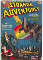 Strange Adventures 4 DC 1950 VG Sci-Fi Rainbow