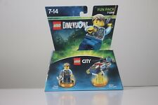 Lego Dimensions - Fun Pack - City - Chase McCain - 71266  *NEW*