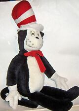 "Cat in the Hat Dr. Suess  30"" Stuffed Animal Plush made for Macy's 1995  vintage"