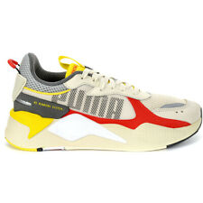 Puma Men's RS-X Bold Whisper White/High Risk Red Sneakers 37271503 NEW