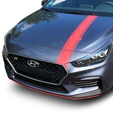 Capó Decoración Hyundai I30N Lámina Rojo Accesorio Pegatina Tuning D020