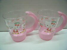 Hello Kitty RARE glass cup  original Sanrio Japan
