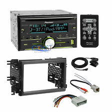 Pioneer USB Sirius Xm Stereo Dash Kit Amp Harness for 04+ Ford Lincoln Mercury