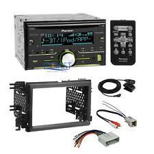 Pioneer USB Sirius Xm Stereo Dash Kit Amp Harness for 04+ Ford Lincoln Mercury