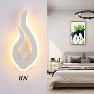 9W LED Wandleuchte Wand-Lampe Strahler Innen Modern Effekt Leuchte Licht up
