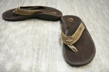 **Olukai Kids Nui Sandal, Big Boy's Size 4/5, Brown NEW