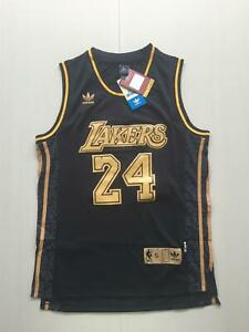 EBDC Bryant Los Angeles Lakers 24# Maillot de basketball pour homme /Édition comm/émorative Jeune R/étro Basketball Swingman Mailles 2XL