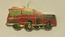Fire Truck - lapel tie pin badge hat cap - Engine fighting RFS NSWFB