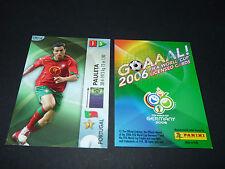 PEDRO PAULETA PORTUGAL PANINI CARD FOOTBALL GERMANY 2006 WM FIFA WORLD CUP
